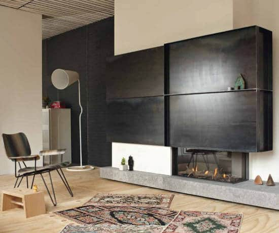 foyer ferm au gaz la flamb e facile. Black Bedroom Furniture Sets. Home Design Ideas